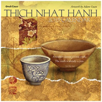 Brush Dance Thich Nhat Hanh 2015 Wall Calendar