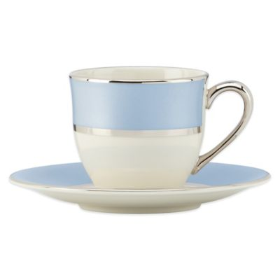 Lenox® Blue Frost Demitasse Cup and Saucer