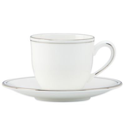 Lenox® Federal Platinum Demitasse Cup and Saucer Set