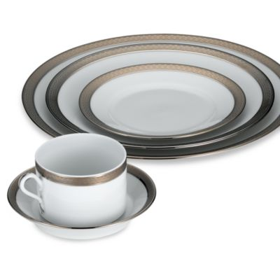Impero Platinum 5-Piece Place Setting