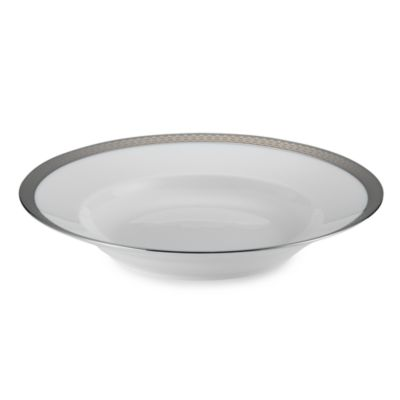 Impero Platinum 9 1/2-Inch Rim Soup Bowl