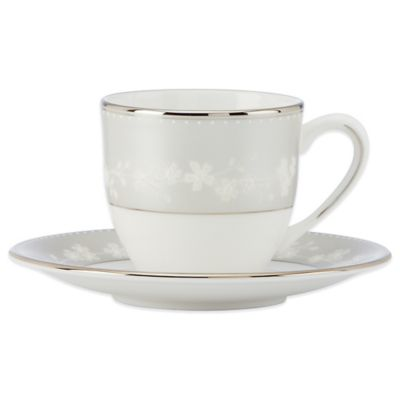 Lenox® Bellina® Demitasse Cup and Saucer