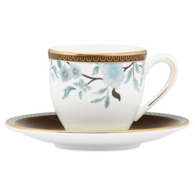 Marchesa by Lenox® Palatial Garden Demitasse Cup and Saucer