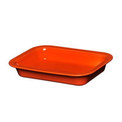 Fiesta® 9-Inch x 13-Inch Rectangular Baker in Poppy