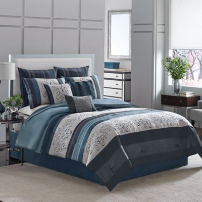 Manor Hill® Lana 8-Piece Full Comforter Set