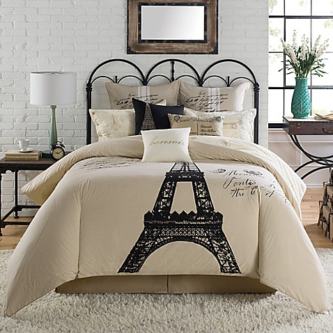 Paris Themed Comforter Set Bed Bath And Beyond
