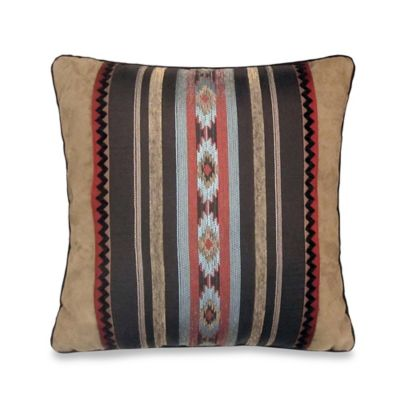 Veratex Santa Fe Square Throw Pillow