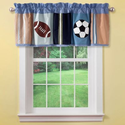 Blue Window Valance Sets