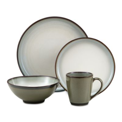 Sango Concepts Avocado 16-Piece Dinnerware Set