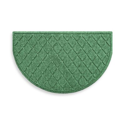 Weather Guard™ 24-Inch x 39-Inch Argyle Door Mat in Light Green