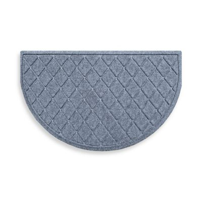Weather Guard™ 24-Inch x 39-Inch Argyle Door Mat in Medium Blue