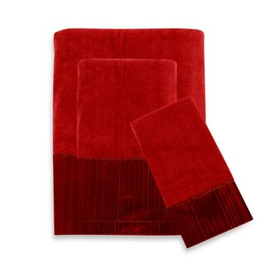 Stafford Hand Towel in Russet