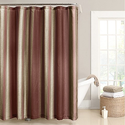 buy stafford 54 inch x 78 inch stall shower curtain in