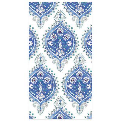 Floral Indigo 16-Count Paper Guest Towels