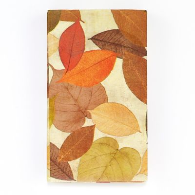 Golden Leaves 16-Count Paper Guest Towels
