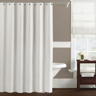 Lamont Home™ Diamond Matelassé Shower Curtain