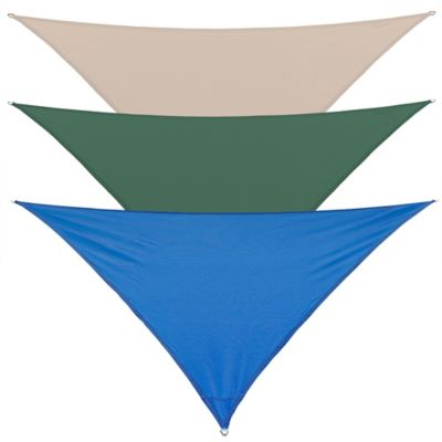 Coolaroo® Coolhaven 12-Foot Triangle Shade Sail in Sapphire