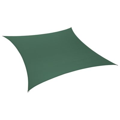 Coolaroo® Coolhaven 12-Foot Square Shade Sail in Heritage Green