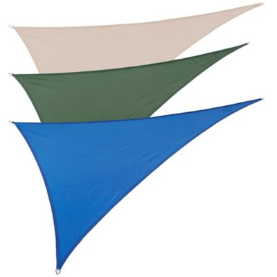 Coolaroo® Coolhaven Right Triangle Shade Sail in Heritage Green