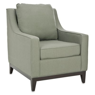 Grey Beige Club Chair