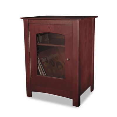 Crosley Bardstown Entertainment Cabinet in Cherry
