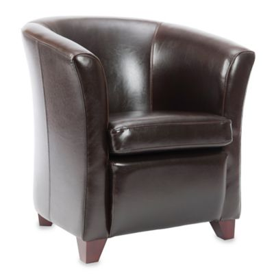 Safavieh Lorraine Tub Chair in Mulberry