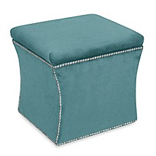 Skyline Furniture Nail Button Storage Ottoman