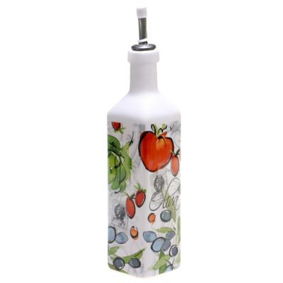 Certified International Alfresco Oil Bottle with Stopper