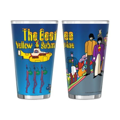 The Beatles Yellow Submarine Hill Pint Glasses (Set of 2)