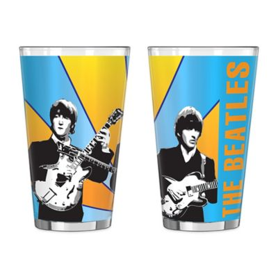 The Beatles Band Pint Glasses (Set of 2)