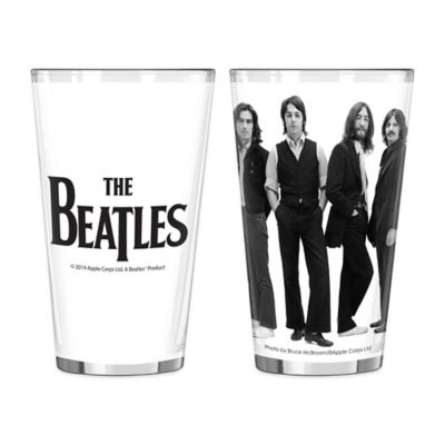 The Beatles Iconic Pint Glasses (Set of 2)