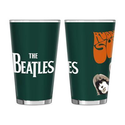 The Beatles Rubber Soul Pint Glasses (Set of 2)