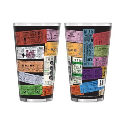 The Beatles Tickets Pint Glasses (Set of 2)