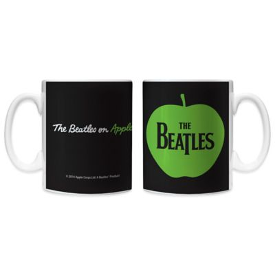 The Beatles Apple 11 oz. Coffee Mugs (Set of 2)