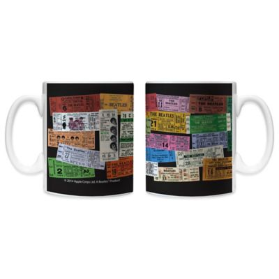 The Beatles Tickets 11 oz. Coffee Mugs (Set of 2)