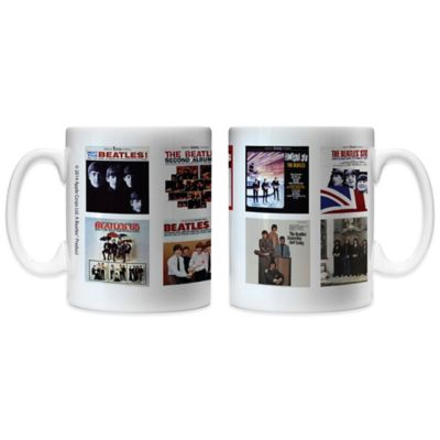 The Beatles U.S. Albums 11 oz. Coffee Mugs (Set of 2)