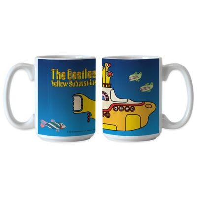 The Beatles Yellow Submarine 15 oz. Coffee Mugs (Set of 2)