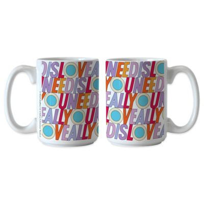 The Beatles All You Need Is Love 15 oz. Coffee Mugs (Set of 2)