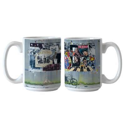 The Beatles Anthology 15 oz. Coffee Mugs (Set of 2)