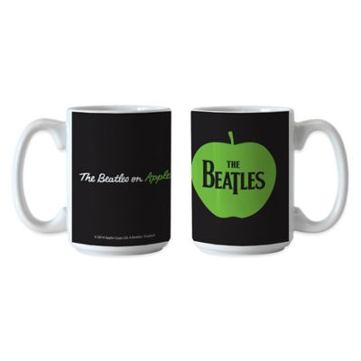 The Beatles Apple 15 oz. Sublimated Coffee Mugs (Set of 2)
