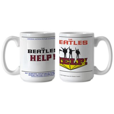 The Beatles Help! Original Motion Picture Soundtrack 15 oz. Coffee Mugs (Set of 2)