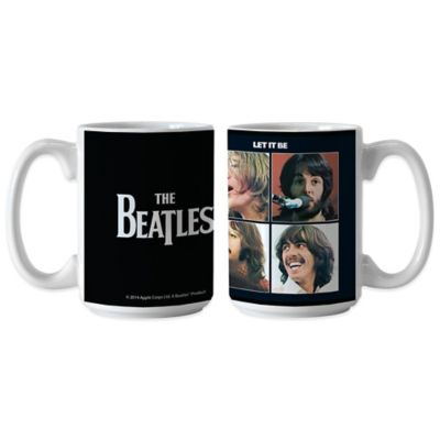 The Beatles Let It Be Coffee Mugs (Set of 2)