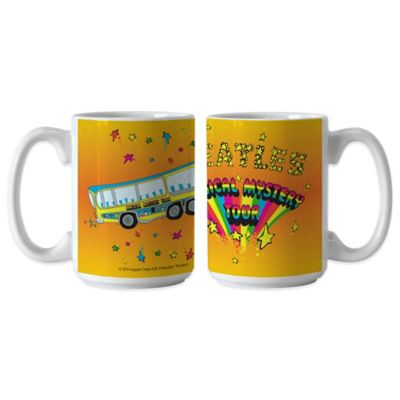 The Beatles Magical Mystery Tour 15 oz. Coffee Mugs (Set of 2)