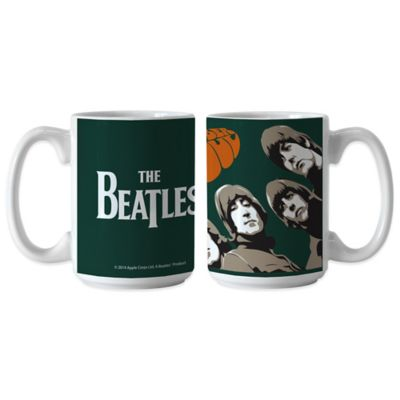 The Beatles Rubber Soul 15 oz. Coffee Mugs (Set of 2)