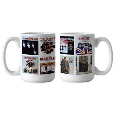 The Beatles U.S. Albums Coffee Mugs (Set of 2)