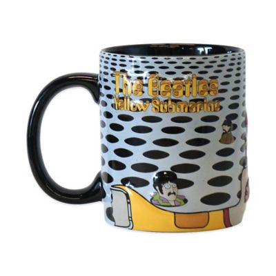 The Beatles Yellow Submarine Sea of Holes 15 oz. Sculpted Coffee Mug