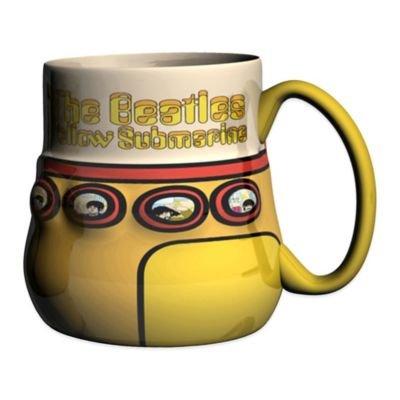 "Beatles ""Yellow Submarine"" Sculpted Coffee Mug"