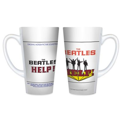 The Beatles Help! Original Motion Picture Soundtrack Latte Mugs (Set of 2)
