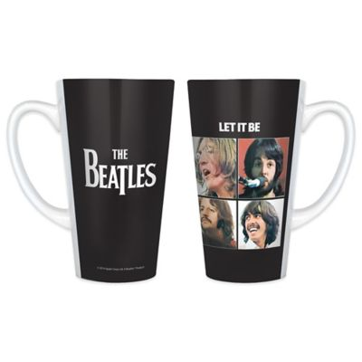 The Beatles Let It Be Latte Mugs (Set of 2)
