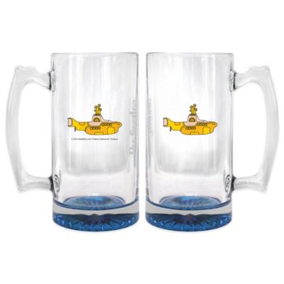 Yellow Drinking Glasses